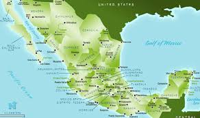 map of mexico yucatan region mexico tourism facts statistics 2016 journey mexico