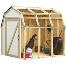 2x4 basics barn roof style shed kit 90190mi do it best