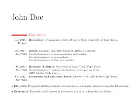 latex resume template moderncv exles moderncv alignment of bullet points in modern cv tex latex