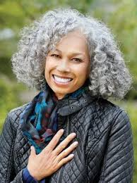 hairstyles for young women with gray hair natural hairstyles with gray hair black women design 639x960 pixel