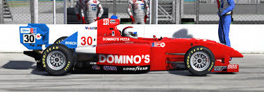 pro formula mazda 1985 al unser jr dominos pizza replica star mazda by corey h