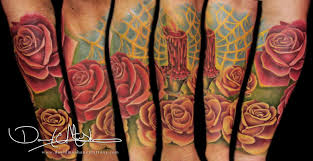 david mushaney tattoos tattoos realistic half sleeve tattoo