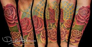 rebel muse tattoos original half sleeve