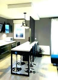 s駱arer la cuisine du salon meuble separation cuisine salon avec separation cuisine salon bar