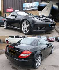 mercedes slk amg alloy wheels refurbished by paint perfect