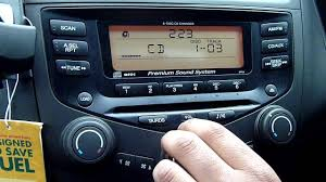 honda accord 2 2 i ctdi 6 disc cd player youtube
