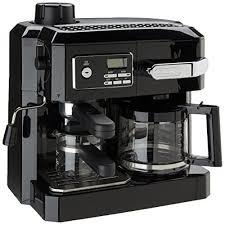 DeLonghi bination Espresso and Drip Coffee Black Patented