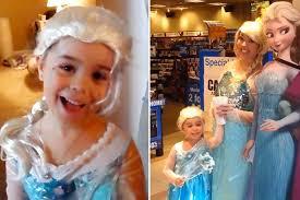 frozen watch disney mad mum daughter dress movie u0027s