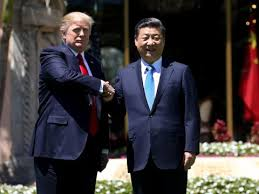 trump told chinese president about syria strike over cake