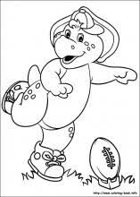 barney friends coloring pages coloring book