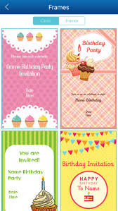 invitation maker app birthday invitation card maker hd pro on the app store