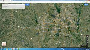 Dallas Fort Worth Area Map by Fort Worth Texas Map