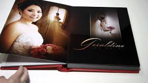 wedding photo albums geradine sly wedding album