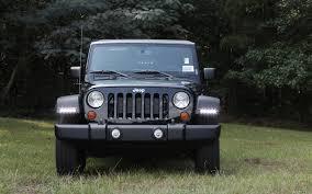 led lights for jeep wrangler jk jeep wrangler led daytime running light system now available