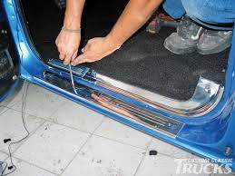 Chevrolet C10 Interior Installing A Chevrolet C10 Interior Rod Network