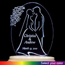 glass wedding cake toppers wedding cake toppers cake toppers