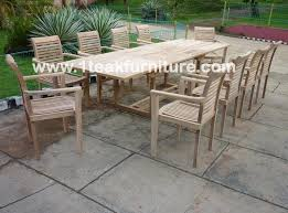 Restore Teak Outdoor Furniture by Outdoor Inspiring Teak Outdoor Patio Furniture Ideas With White