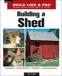 building a shed revised ebook by joseph truini homebuilding