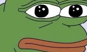 Meme Sad - the sad frog meme you ve probably sent friends was declared a