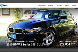 bmw used car sale vr like 360 degree viewing comes to the used car market with beepi