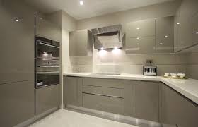 light grey acrylic kitchen cabinets high gloss grey acrylic kitchen cabinet modern www