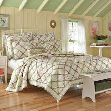 Laura Ashley Bedroom Furniture Laura Ashley Home Ruffled Garden Cotton Reversible Quilt By Laura
