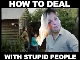 Stupid People Meme - how to deal with stupid people youtube