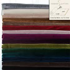 tissu ameublement canap 280 cm large mat velours tissu rideau tissu tissu d ameublement