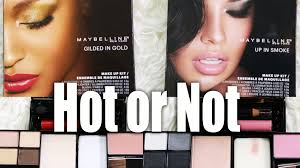maybelline all in 1 palettes or not youtube