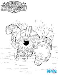 dive clops coloring pages hellokids com