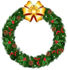 christmas wreath clipart many interesting cliparts