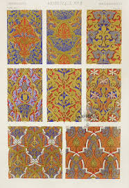 antique prints from owen jones the grammar of ornament 1865