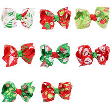 8 in 1 ornaments butterfly knot colorful ribbon hairpin