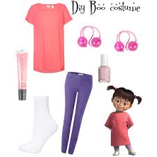 Monster Halloween Costumes Diy Boo Monsters Costume Zoe Vi Polyvore