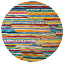 Modern Circular Rugs Colorful Jubilee Rug Modern Boston By Company C