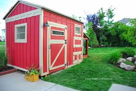 remodelaholic cute diy chicken coop with attached storage shed how to build a chicken coop with attached storage shed by chalkboardblue featured on remodelaholic
