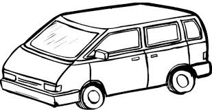 coloring page for van coloring pages van van 6 transportation printable coloring pages