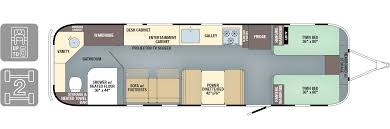 floorplans classic airstream