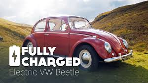 car volkswagen beetle electric vw beetle fully charged youtube