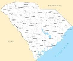 Georgia South Carolina Map Best Photos Of Map Of South Carolina Cities Map South Carolina