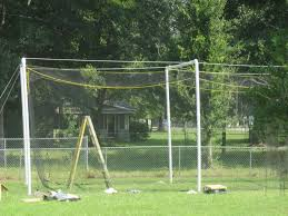backyard batting cage dimensions home outdoor decoration