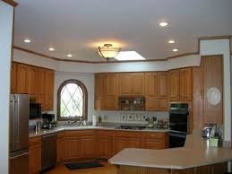 modern interior open kitchens designs with recessed lighting