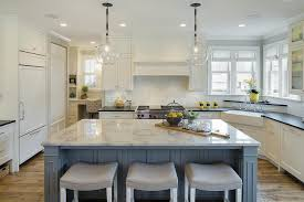 yellow and white kitchen ideas blue kitchen island with yellow stools design ideas