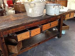 Second Hand Work Bench Old Workbench Nook Vintage Melbourne Vintage Shops Victoria