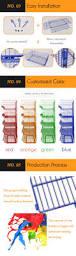 supermarket mobile stackable storage bin stacking wire basket