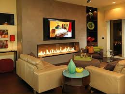 Mounting A Tv Over A Gas Fireplace by Modern Gas Fireplaces Hgtv