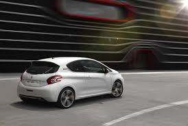 peugeot 208 gti blue new peugeot 208 gti 2013 headed for paris motor show