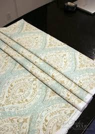 No Sew Roman Shades Instructions - no sew faux roman shade artsy rule