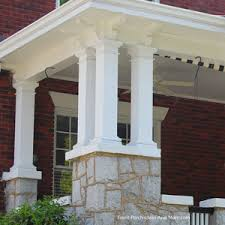 wood porch posts best 25 columns ideas on pinterest front 11