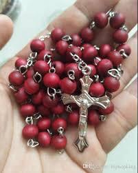 religious jewelry stores scented perfume wood rosary inri jesus cross pendant